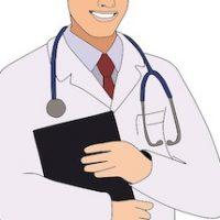 白衣のドクター