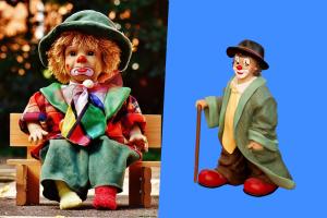 座りっぱなし、立ちっぱなしの人形