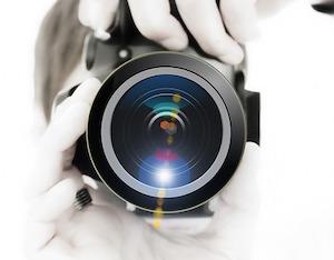 カメラのファインダー・レンズ