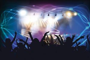 音楽を楽しむ人々