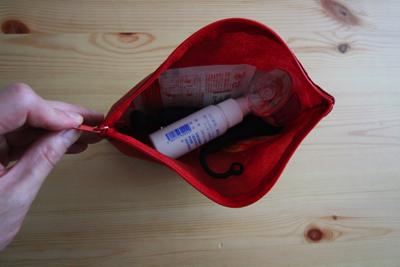 アナルオナニー専用のおもちゃ袋の中身