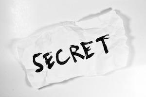 秘密のイメージ