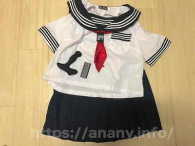 女装用のセーラー服(制服)